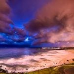 Supercell-at-the-Gold-Coast-storm-lightning-over-the-ocean-beach