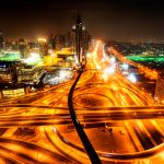 Divide-and-Conquer-Dubai-futuristic-hdr-photo-by-luke-zeme-crossroad-intersection-highway