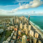 Towering-Surfers-Paradise-looking-down-on-the-buildings-of-surfers-paradise