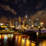 Melbourne-night-hdr-photo